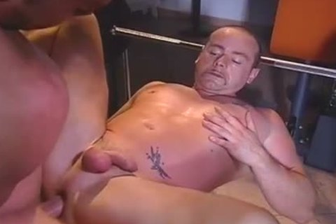 Janos Volt Having A Masturbating Dream With Two men fucking