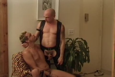 Leather Wolf - Scene two - Macho man video scene
