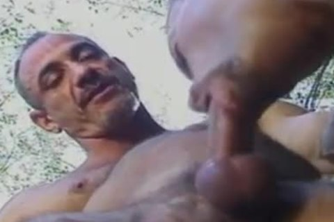 Body Builders gracious Outdoor butthole fucking