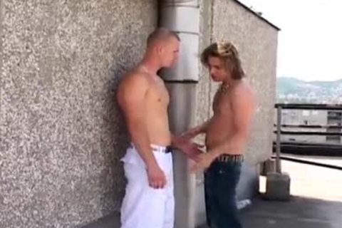 Curtis And Ferris acquire ass hammered In Public