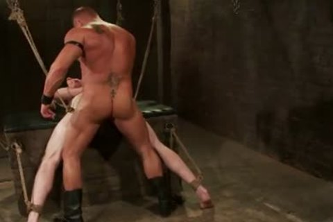 First-Timer Ben wants Being Teased And fastened By Leather taskmaster