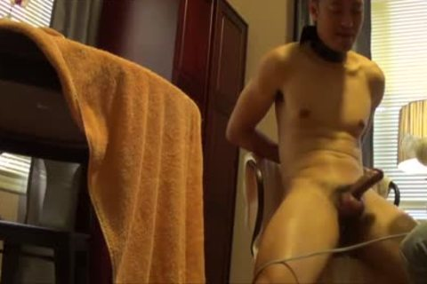 asian Buddy Is fastened, Edged And Milked Dry.  Remember To much loved If you Like So Others Can discover The clip scene.