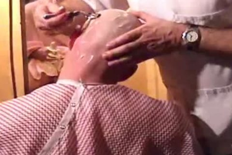 This Harder Treats His Client Well  irrumation job Shave Bald Sex Her Off II