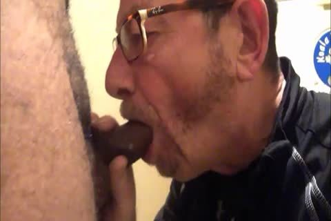 Daddy Meets A delightsome 18yo Bull On CraigsList.  They Meet In The Hotel's baths Where Daddy Sucks Then acquires pounded.  Finishes Off His Hung chick Swallowing His palatable cum Then His lad Gives Daddy His last Treat By Pissing Down His face hol