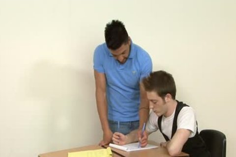 homo Students plowing In The Classroom
