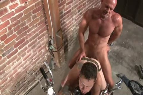 Damon Dogg And The cum aperture Cruisers - Scene three - Factory clip