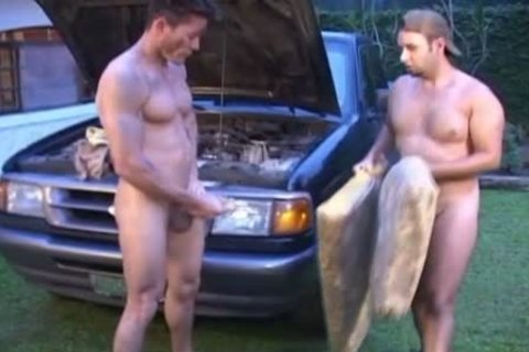 Oiled And messy homo twinks nail Outside
