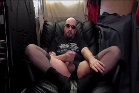 butthole fake penis And Masterbation,in darksome nylons
