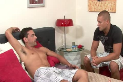 pretty homo acquires Anally Nailed And Cummed