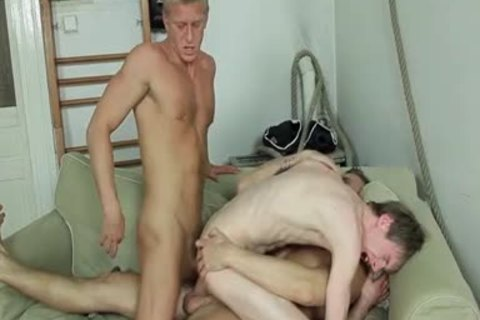 bunch-sex, kissing, oral pleasure-service stimulation job, butt sex, B