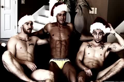 A homo Christmas fuckfest In This Great clip scene