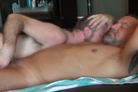 Worshiping Daddy's large 10-Pounder  have a enjoyment!