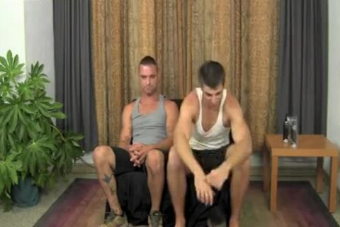 two Straight males Jerk-off