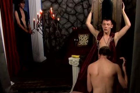 Ethan Storm gratifying His Masters penis