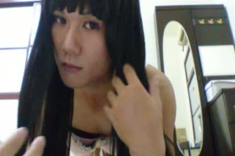 asian CD Solo In White Stocking