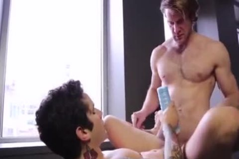Colby Keller bonks Pierre Fitch