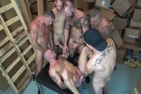 Sean Duran GoGo group sex gay Sex