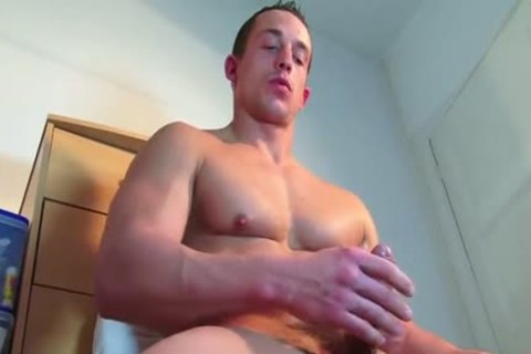 A admirable innocent str8 lad Serviced His gigantic schlong By A lad In Spite Of Him!