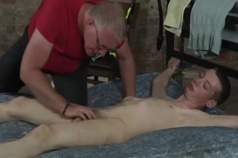 James Lewis hairless And drilled By The taskmaster Sebastian Kane
