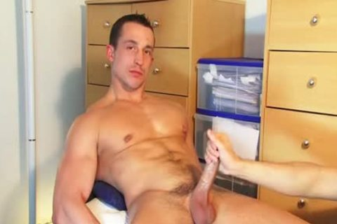 straight man Found In A Gym Club, he acquires Wanked His weenie By A man On clip scene!