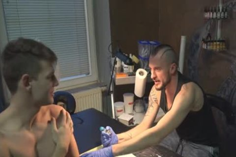 juicy Sex For cash In A Tattoo Studio