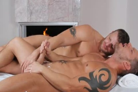 ManRoyale - Shane Frosts Swallows large Load From Jeremy Stevens