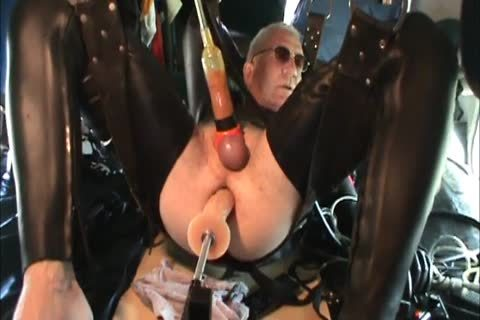 Rubber twinks Geared Machine hammered