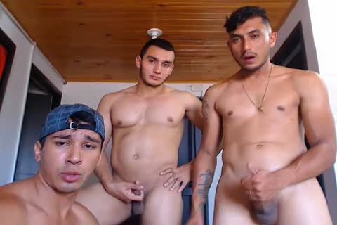 painfully group-sex, 1 homo & 5 handsome Colombians