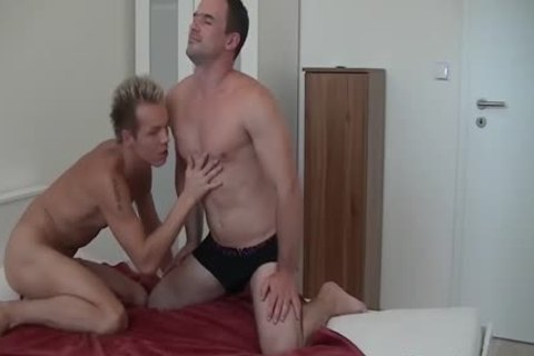 concupiscent Andy acquires His arse hammered By favourable