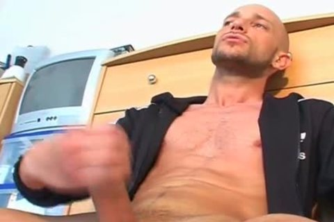 Full clip: A admirable innocent Gym guy Serviced His large 10-Pounder By Us.