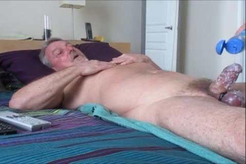 Stroking And engulfing another stunning-Waxed Wad From Farmer K.
