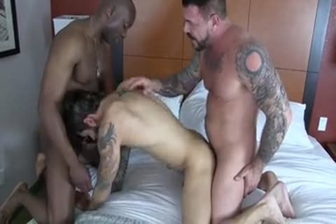 Champ Robinson, Draven Torres, Rocco Steele - Awesom 3some bareback
