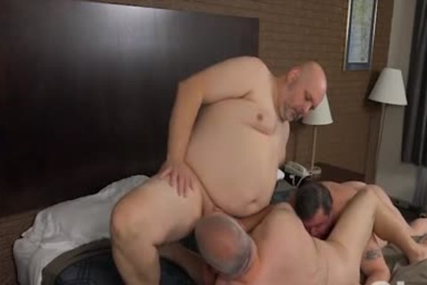 pounding His Blistering chubby Bumhole