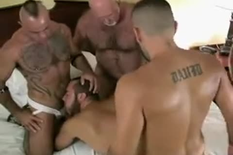 naked Bear Daddy bunch-sex
