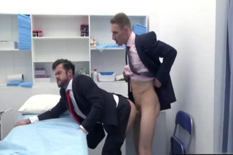 large dick Doctor wazoo plow And cumshot