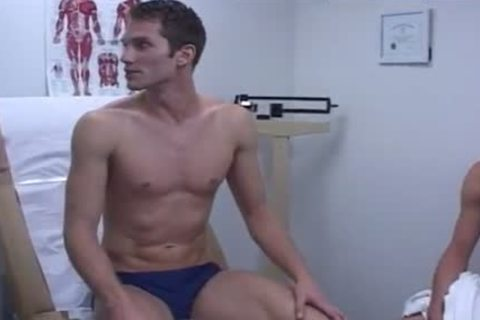 Exam Physical Military lad Clip And Doctor poke