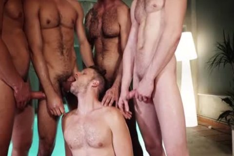 juicy homosexual threesome With cumshot
