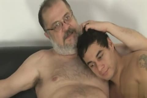 chubby daddy chap With young lad