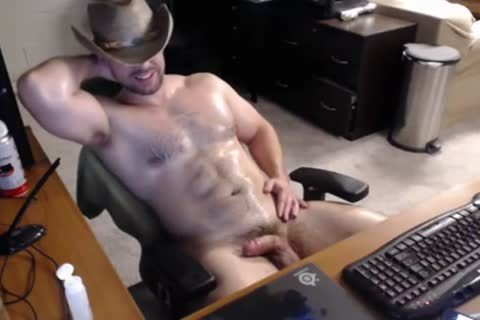 thick Cowboy Cums 3 Times
