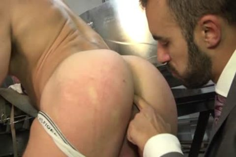 Muscle homosexual ass sex And Facial