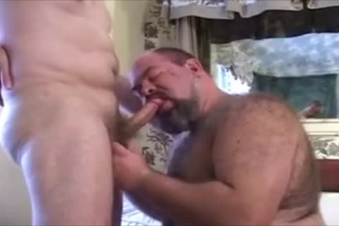 monstrous hirsute Chub Bear And Daddy Have Some enjoyment.