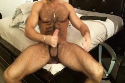 Hunk Sean Zevran dildos His anal And Cums On cam