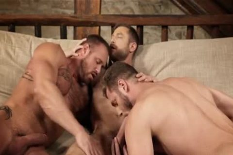 pumped up threesome bare And Creampie