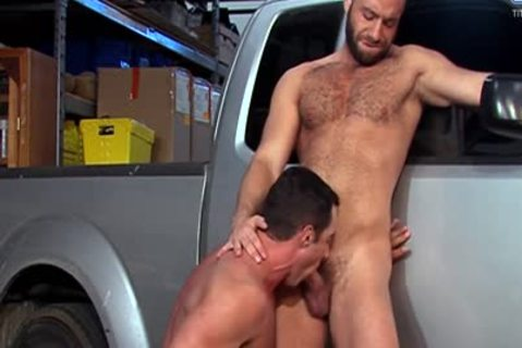 Eddy CeeTee And Nick Capra pound In The Garage