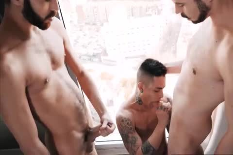 young Bottom Taking two big Hard dongs In The butt unprotected - SO wild!!