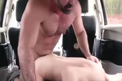 excited Daddy hammers His Step Son In A Car - FAMI