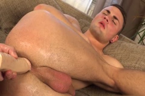 horny gay Gaping With sex cream flow