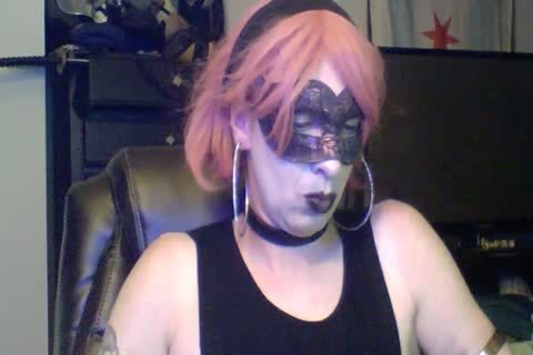 wild Dancing Goth CD web camera Show (part 2 Of 2)