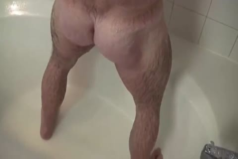 charming Muscle Daddy Mikey Shower jack off   cum