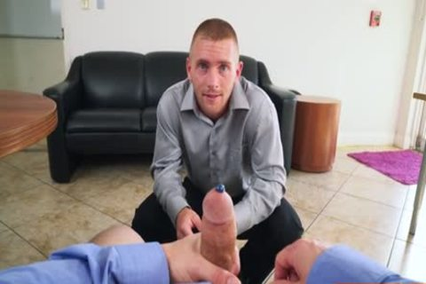 Muscle homosexual irrumation-service With Facial